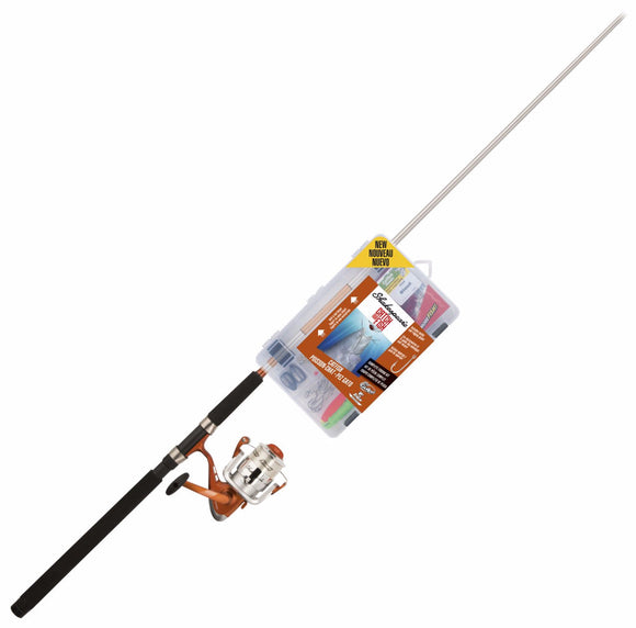 Shakespeare Catch More Fish Catfish Combo Spinning 7Ft 2Pc W/Tackle  Rod & Reel Combos Shakespeare - Hook 1 Outfitters/Kayak Fishing Gear