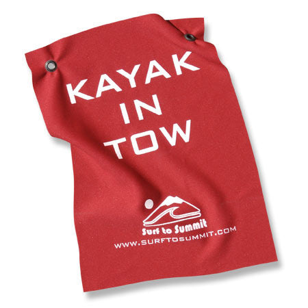 Kayak Tow Flag  Transportation Surf to Summit - Hook 1 Outfitters/Kayak Fishing Gear