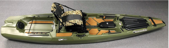 Limited Edition Woodsman SS127  Kayaks Bonafide Kayaks - Hook 1 Outfitters/Kayak Fishing Gear