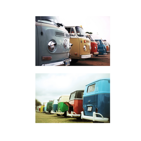 Colorful VW Collection