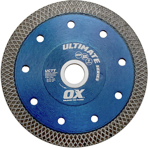 Ultimate Porcelain Fine Turbo Diamond Blade Series | Porcelain/Stone - OX Tools