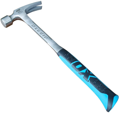 OX Tools 22 Ounce Framing Hammer | Milled Face - OX Tools
