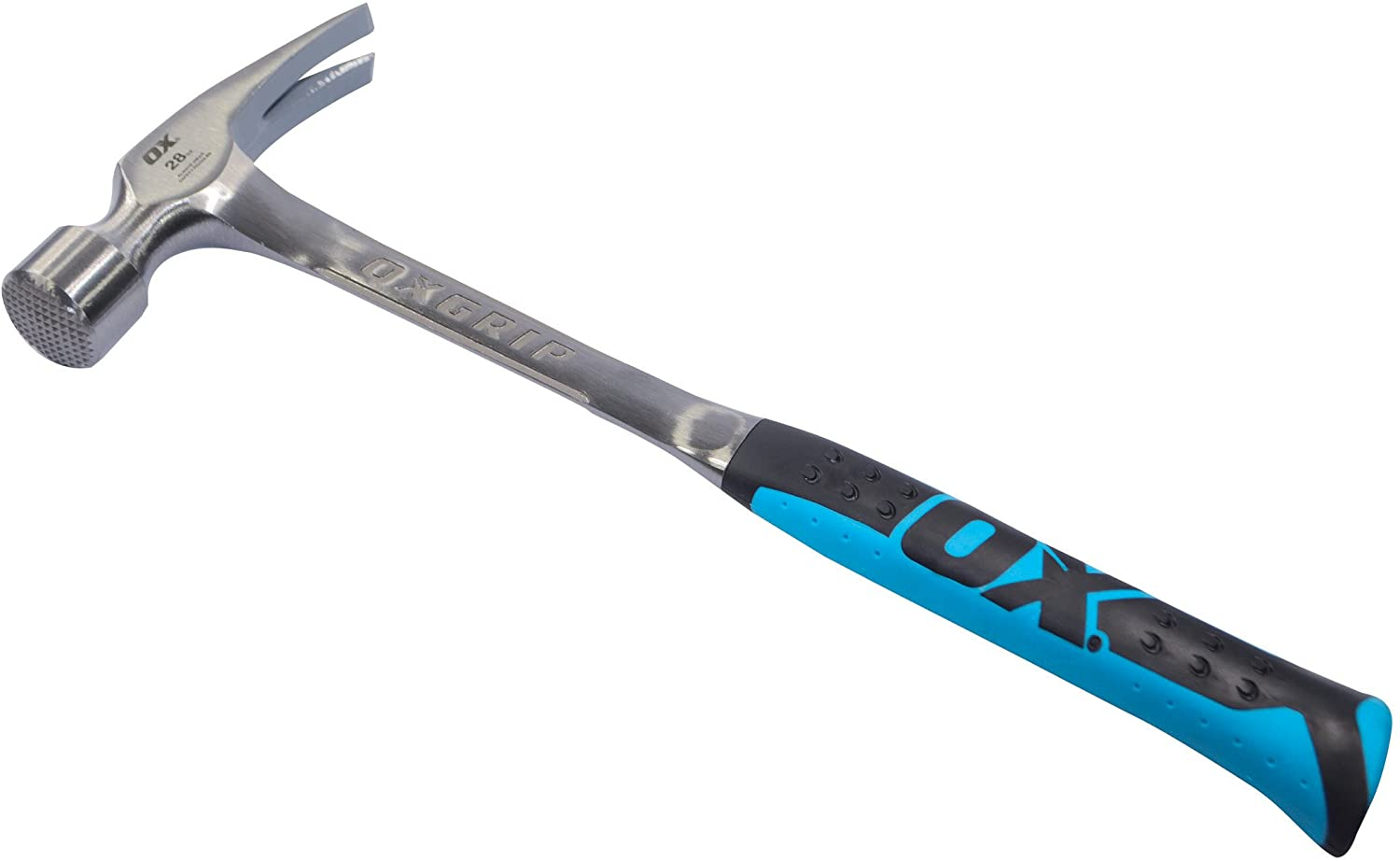 OX Tools 28 Ounce Framing Hammer | Milled Face - OX Tools