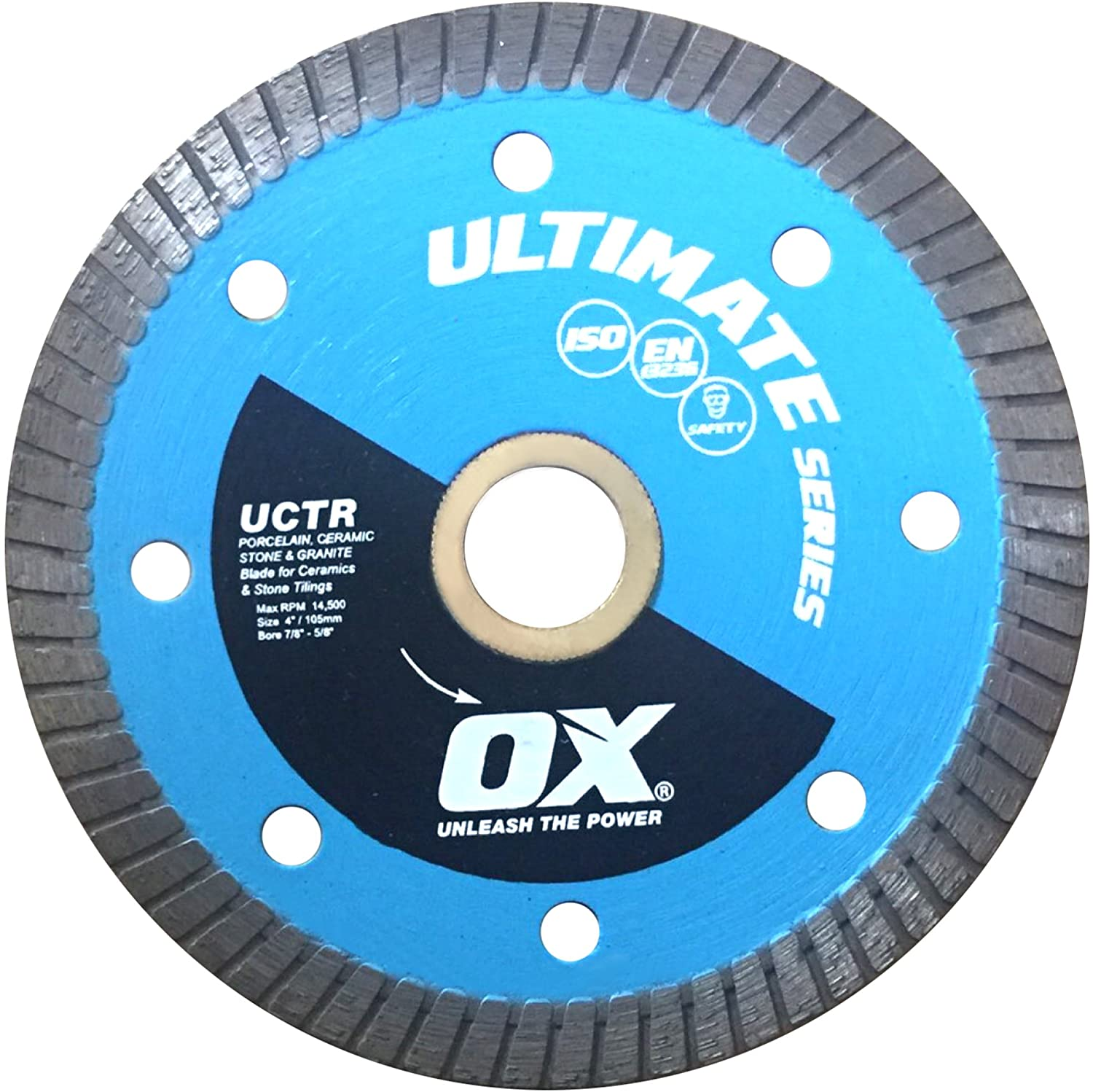 Ultimate Porcelain Tile Cutting Diamond Blade Series | Tile/Porcelain - OX Tools