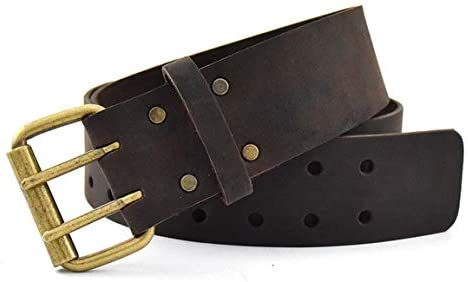 "Leather Tool Belt 2-Inch | Large 29"" - 46"" - OX Tools"