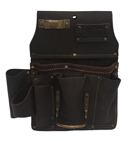 Drywaller's Tool Pouch | Oil-Tanned Leather - OX Tools