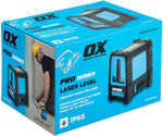 Self Leveling Laser Level w/Tilt Mode | Green Beam, IP65 - OX Tools