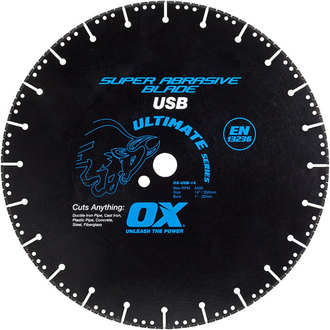 Universal Superabrasive Diamond Blade Series | Metal/Hard Materials - OX Tools