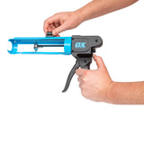 10oz Rodless Caulk Gun | 7:1 Thrust Ratio - OX Tools