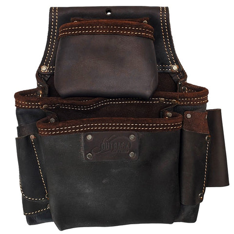 Fastener Pouch | Oil-Tanned Leather - OX Tools