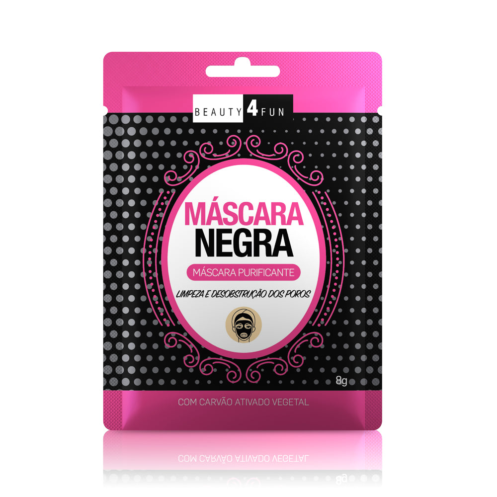 Máscara Negra Anti-Cravo