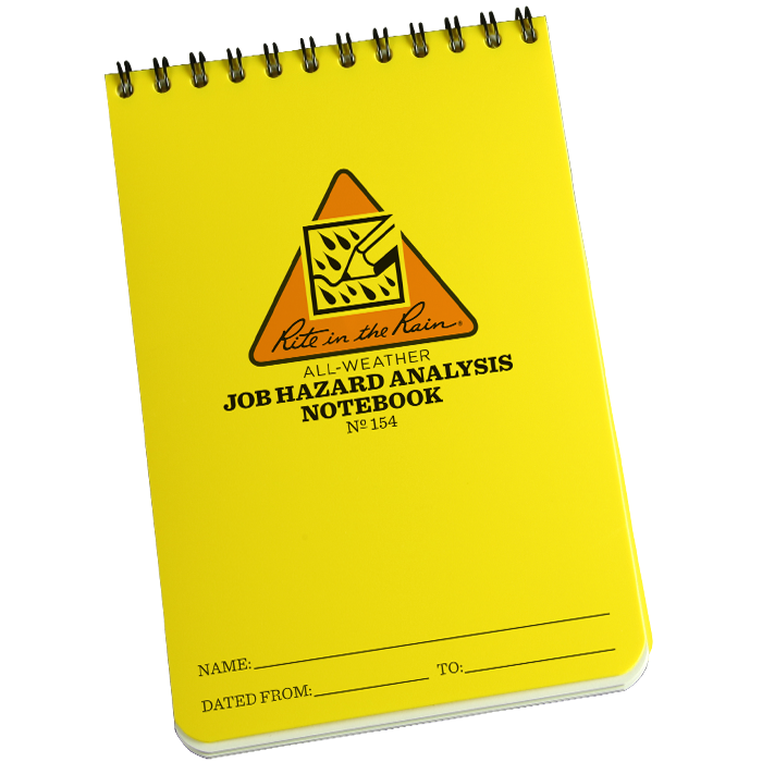 Rite in the Rain - Job Hazard Analysis Notebook