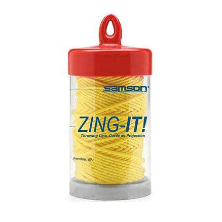 A Container Of Zing It Throw Line
