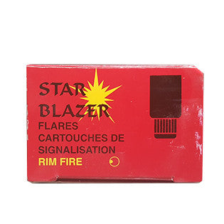 Box Of Red Signal Flare
