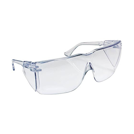 A Pair Of Clear Safety Glasses