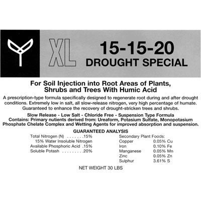 Product information sheet for XL 15-15-20