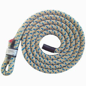 5' Beeline 10 mm Split Tail Lanyard with Sewn Eye