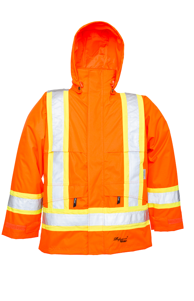 Viking Journeyman 300D Safety Rain Jacket