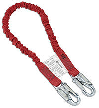 Dynamic Dyna-Yard Lanyard With Integrated Energy Absorber