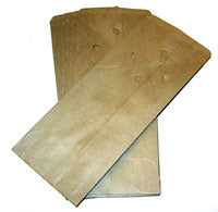 "KRAFT Soil Sample Bags (4""x6"" folded) /500"