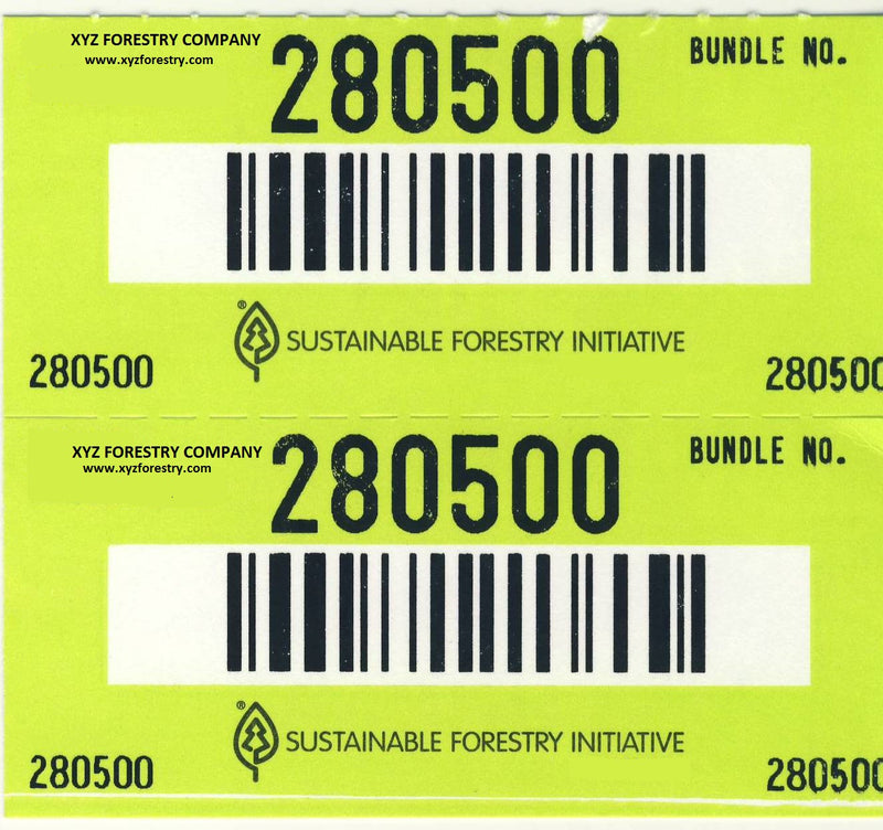 Log & Bundle Tags