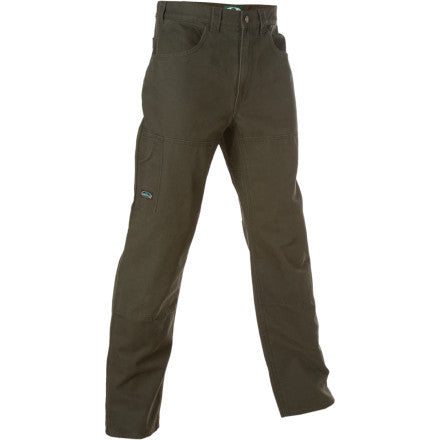 A Pair Of Dark Green Arborwear Pants