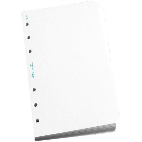 A Stack Of Weatherproof Loose Leaf Sheets, With Blue Rite In The Rain Branding