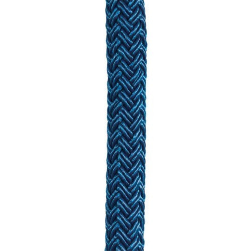 A Section Of Blue Rigging Rope