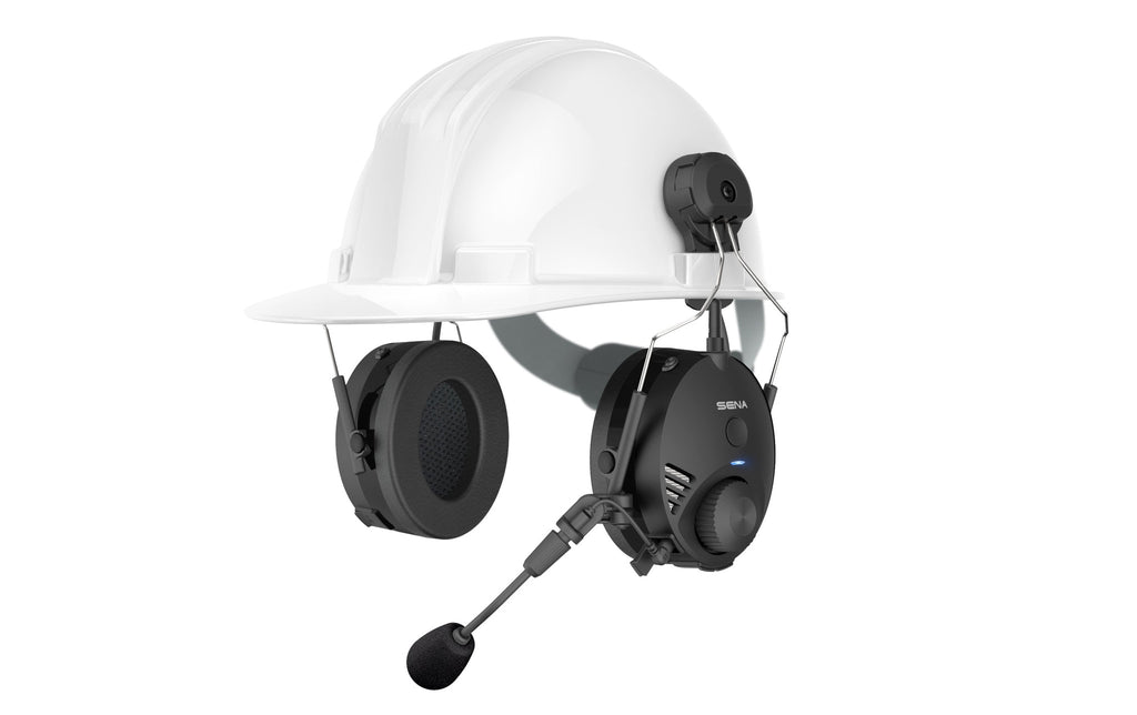 Sena Tufftalk, Hard Hat mounted Earmuff with Long-Range Bluetooth Communication