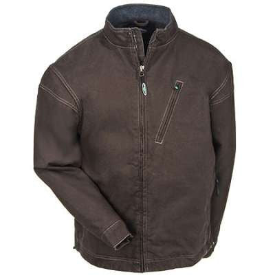 Front View Of Arborwear Chestnut Bodark Jacket