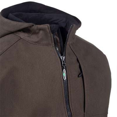 Close Up Of Chestnut Bodark Jacket