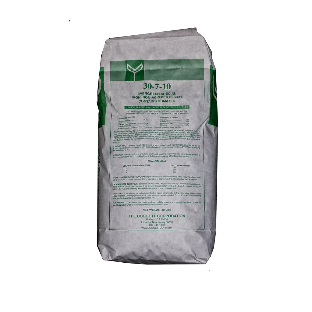 30-7-10 Evergreen Fertilizer