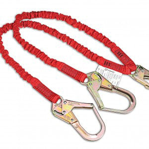 Dynamic Dyna-Yard Lanyard with Integrated Absorber