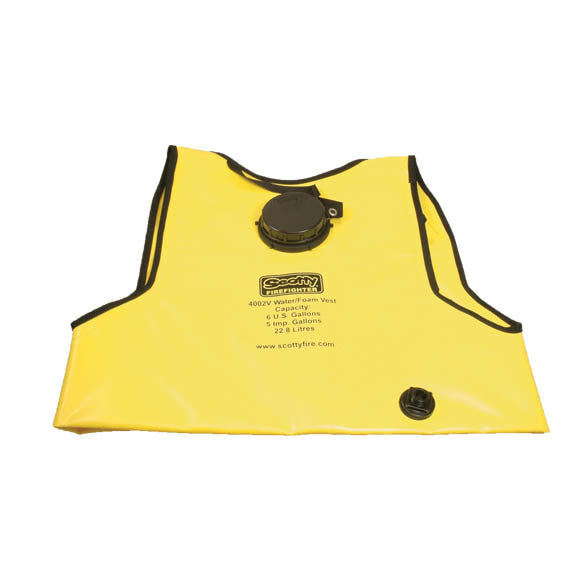 A Yellow Firefighting Water Vest