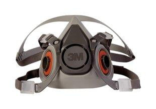 Front view of half mask respirator.