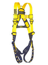Yellow Delta Harness, Front View