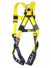 Yellow Delta Harness, Rear View