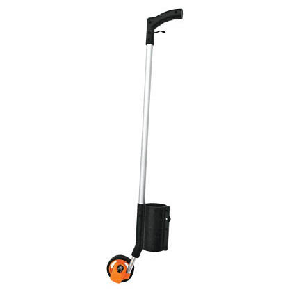 A Paint Applicator With Orange Wheel