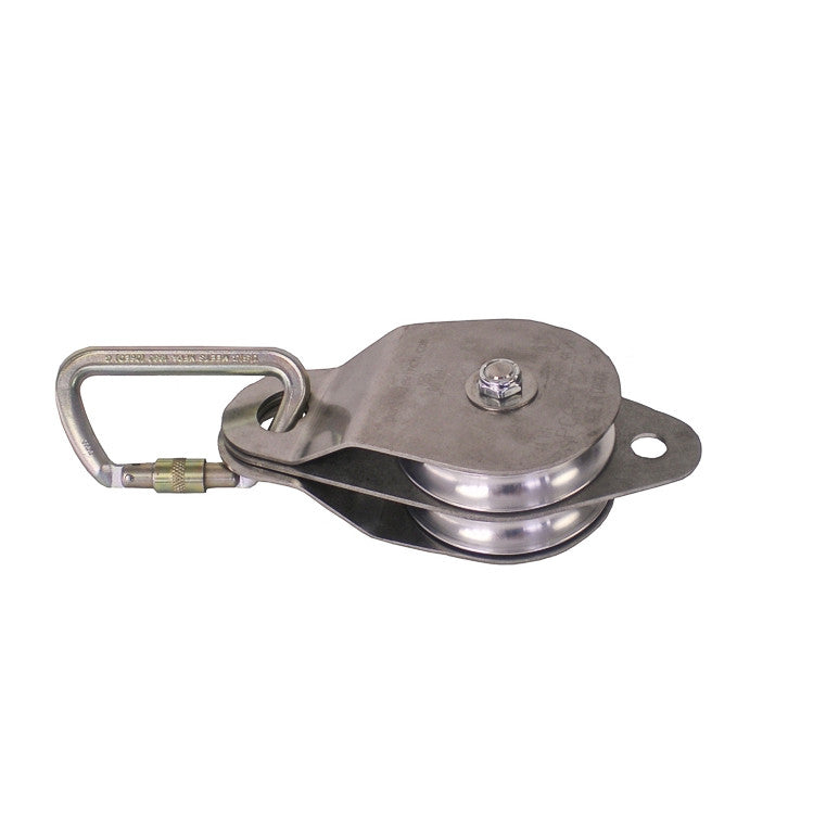Steel Carabiner with Pulley