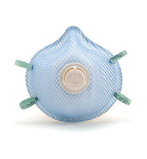 A Moldex N95 Respirator With Exhalation Valve
