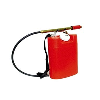 Red Backpack Fire Pump