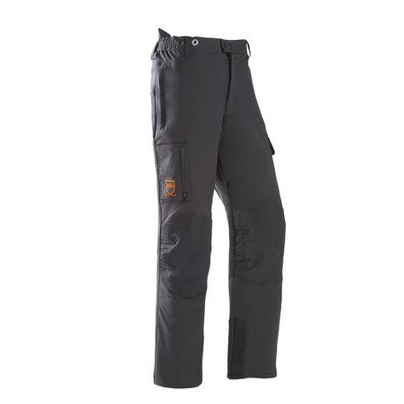 A Pair Of Black SIP Progress Arborist Chainsaw Pants