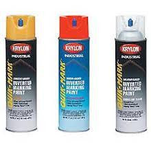 Krylon Quik Mark Inverted Marking Paint,  Water Based