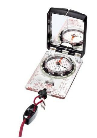 Suunto Sighting Compass, with lanyard attachment and mirror