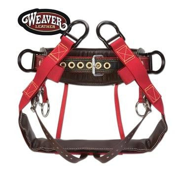 Weaver 4-Dee Extra Wide Back Saddle with Batten Seat