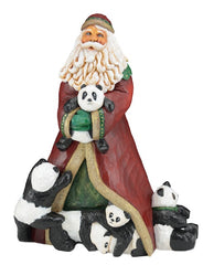 Barbara Scoles hand carved wooden Santas
