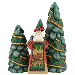 Dave Francis Santa carvings