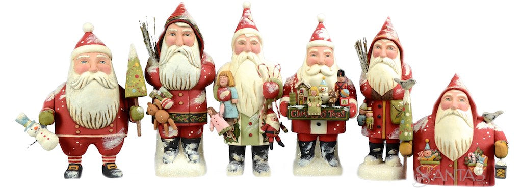 Greg Guedel Santa Claus carvings at santas.com