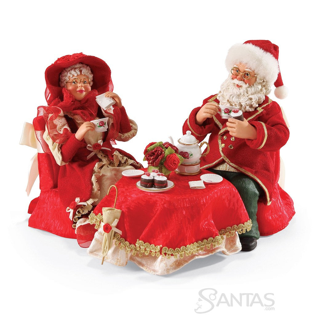 Mr and mrs claus ornaments - Sweethearts Mr And Mrs Claus By Possible Dreams