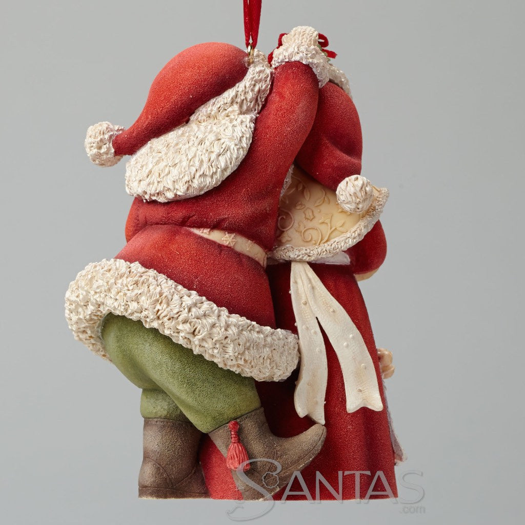 Mr and mrs claus ornaments - Mr And Mrs Claus Ornament Heart Of Christmas